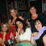 Friends at Burlesque Cafe Ramsgate