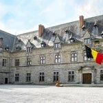 Façade du Château de Chimay