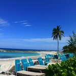 Gorgeous beaches with plenty of lounge chairs