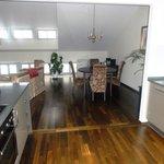 cobertura com estrutura completa de cozinha