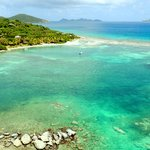 Beautiful BVI beach at Surfsong