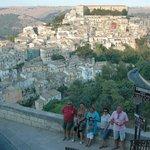 Veduta panoramica di Ragusa Ibla