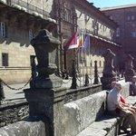 Praça do Obradoiro,Santiago de Compostela.