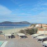 piscine de l hotel et  vue
