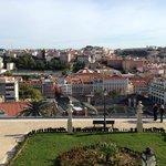 View from park across the street (Jardim de São Pedro)