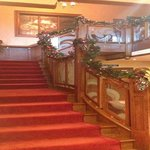 Our Grand Staircase during Christmas