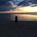 le lagon. 19 h. 21 novembre 2013