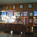The Bar area that shows 5 LIVE games at one time