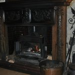 Castle like fireplace
