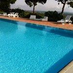 Pool view looking toward sea