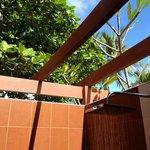 Open Roof Shower