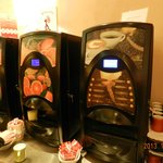 Coffee and Juice machines