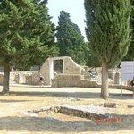 parte dei resti di Salona