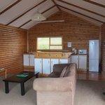 Living Area - Honeymoon Cottage