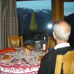 Dinner with a view - WOW. Hotel Alpina. SEP13