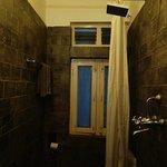 Traditional yet modern bathroom