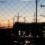 Vista do Hotel de fim de tarde do Estádio MetLife