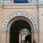 Portal de ingreso al Convento