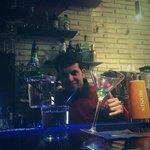Bartender   tino show flair  Cocktails acrobatics