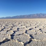 Amazing salt flats at Badwater