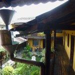 Balkon-Rundgang um Patio, Obergeschoss