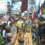 visite spéciale pour les enfants des écoles