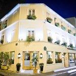 Façade Nuit Hôtel Champerret Héliopolis