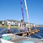 The Catamaran with bean bags