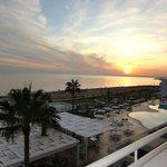 Виз с балкона отеля