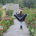 Yo en el jardín :)