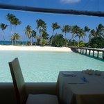 Sicht vom Restaurant