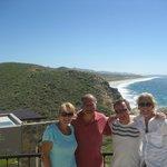 Shelby, Mauricio, Jim and me