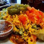 Half of the Mini Navajo Taco