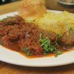 Kafta Bandura with rice