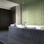 Soaker Tub in Suite