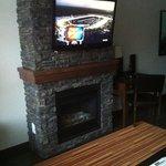 Fireplace w/ TV