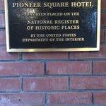 Historic Building plaque