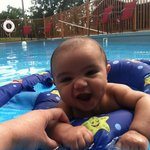 Enjoy pool time with the family