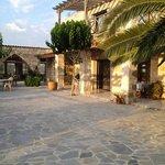 SaBuneri courtyard