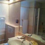 Banheiro do quarto com Vista p/ Matterhorn