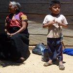 Chamula-Indianer am Fuß des Huitepec