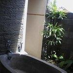 ourdoor toilet in room 305