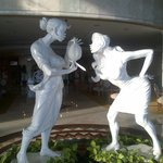 Lobby art...