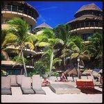 Condo Hotel beach club