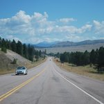 Nearing Missoula from the west