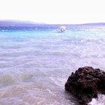 Blue blue water