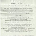 Palace Cafe Dinner menu 11-2013