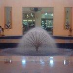 Beautiful Open-Air Lobby
