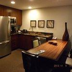 kitchen 1 bedroom condo, bld 22