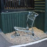 Old Luggage Cart seen everyday